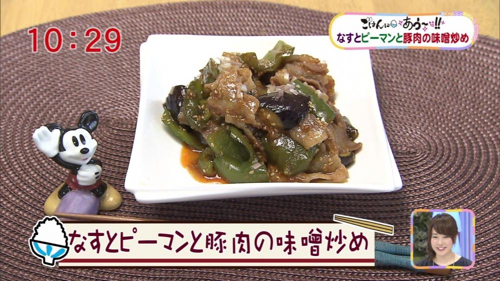 ピーマン 炒め なす 豚肉 味噌
